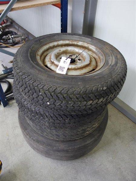 4x Velg Met Band 2x Heinrich Maurer 185 Sr 14 1x Michelin 21570 15 Michelin 23575 175