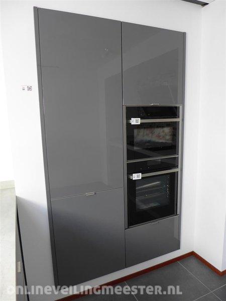 keuken wandkast h cker systemat av 4030 lavagrijs hoo. Black Bedroom Furniture Sets. Home Design Ideas